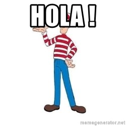 Where's Waldo - Hola !