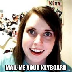 OAG -  MAIL ME YOUR KEYBOARD