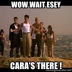 Blood in blood out - wow wait esey caRa's there !
