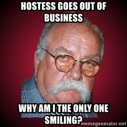 Wilford Brimley Diabeetus Guy - Hostess goes out of business why am i the only one smiling?
