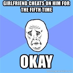 Okay Guy - GIRLFRIEND CHEATS ON HIM FOR THE FIFTH TIME oKAY