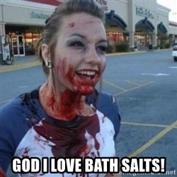 Scary Nympho - God i love bath salts!