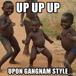 african children dancing - UP UP UP  UPON GANGNAM STYLE