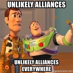 Consequences Toy Story - unlikely alliances unlikely alliances everywhere