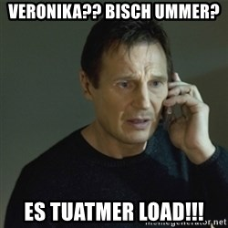 I don't know who you are... - Veronika?? Bisch ummer?  es Tuatmer load!!!