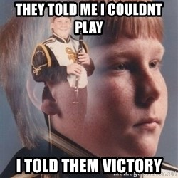 PTSD Clarinet Boy - THey told me i couldnt play i told them victory