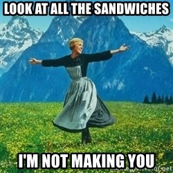 Look at All the Fucks I Give - Look at all the sandwiches i'm not making you