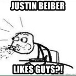 Cereal Guy Spit - JUSTIN BEIBER  LIKES GUYS?!