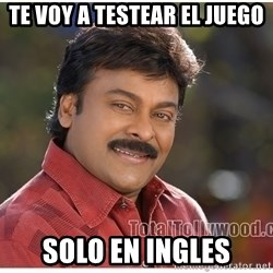 Typical Indian guy - te voy a testear el juego solo en ingles