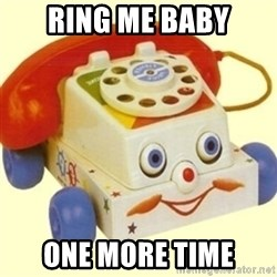 Sinister Phone - RING ME BABY ONE MORE TIME