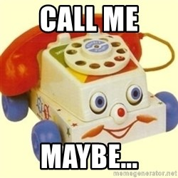 Sinister Phone - call me  maybe...