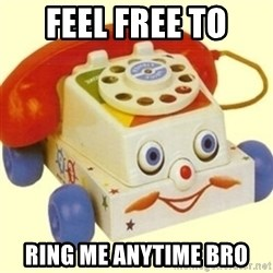Sinister Phone - FEEL FREE TO RING ME ANYTIME BRO