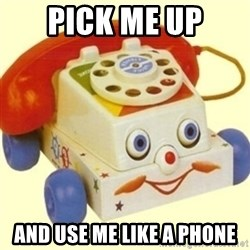 Sinister Phone - PICK ME UP AND USE ME LIKE A PHONE