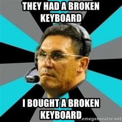 Stoic Ron - They Had a broken keyboard i bought a broken keyboard