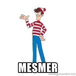 Where's Waldo - Mesmer