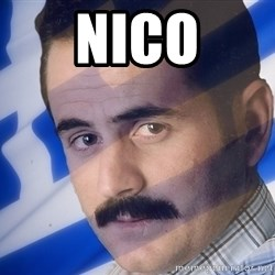 Generic Greek Guy - nico