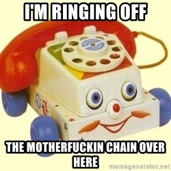 Sinister Phone - i'm ringing off the motherfuckin chain over here