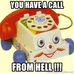 Sinister Phone - you have a call from hell !!!