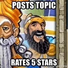 aoeotrollface - posts topic rates 5 stars