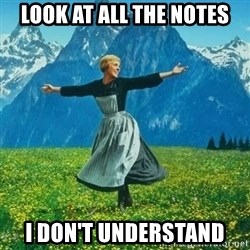 Look at All the Fucks I Give - look at all the notes i don't understand