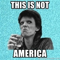 Disturbed Bowie - This is not america
