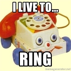 Sinister Phone - I LIVE TO... RING
