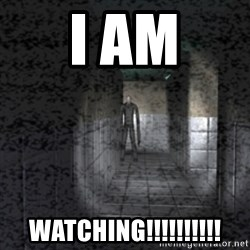 Slender game - i am WATCHING!!!!!!!!!!