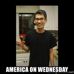 skinny kid - America on wednesday