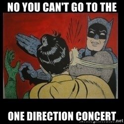 Batman Slappp - NO YOU CAN'T GO TO THE ONE DIRECTION CONCERT