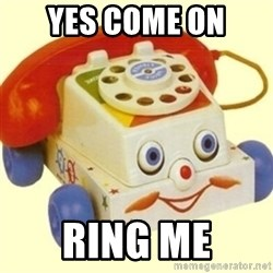 Sinister Phone - YES COME ON RING ME