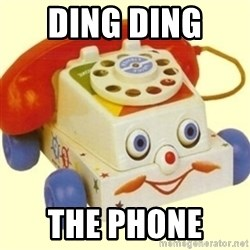 Sinister Phone - DING DING  THE PHONE