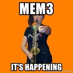 SaxGirl - Mem3 It's happening