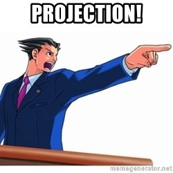 Phoenix Wright Ace Attorney - Projection!
