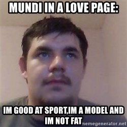 Ash the brit - MUNDI IN A LOVE PAGE: IM GOOD AT SPORT,IM A MODEL AND IM NOT FAT