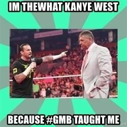 CM Punk Apologize! - im thewhat kanye west because #GMB Taught me