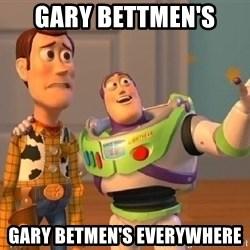 Consequences Toy Story - Gary Bettmen's  gary betmen's everywhere