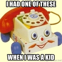 Sinister Phone - i had one of these when i was a kid