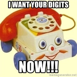 Sinister Phone - I WANT YOUR DIGITS NOW!!!