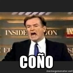 Angry Bill O'Reilly - COÑo