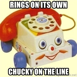 Sinister Phone - RINGS ON ITS OWN CHUCKY ON THE LINE