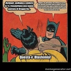Batman Slap Robin Blasphemy -