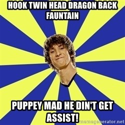 dendi - hook twin head dragon back fauntain puppey mad he din't get assist!