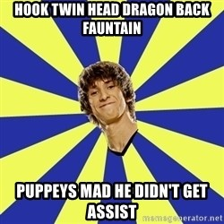 dendi - hook twin head dragon back fauntain puppeys mad he didn't get assist