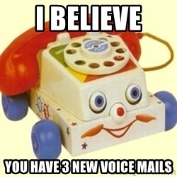 Sinister Phone - I BELIEVE  YOU HAVE 3 NEW VOICE MAILS