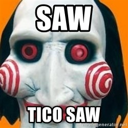 Jigsaw from saw evil - saw tico saw