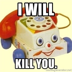 Sinister Phone - i will kill you.