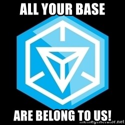 Ingress logo - All Your BAse Are Belong to us!