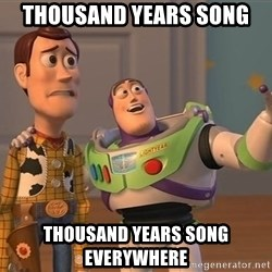 Anonymous, Anonymous Everywhere - Thousand years song thousand years song everywhere