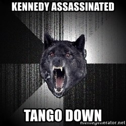 Insanity Wolf - Kennedy assassinated tango down