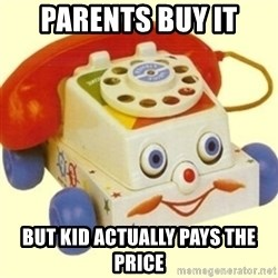 Sinister Phone - PARENTS BUY IT BUT KID ACTUALLY PAYS THE PRICE